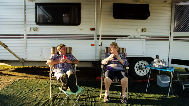 Caravan parks aren't what they used to be, as caravans get bigger and become more like suburban homes, writes one reader.