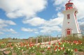 The lighthouse at Victoria by the Sea, Prince Edward Island.