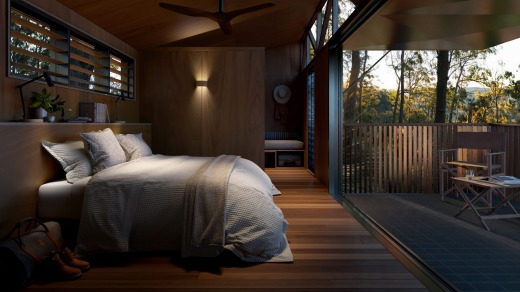 Spicers Hidden Peaks Cabins offer a luxurious end to the hike.