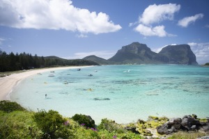 Lord Howe Island: 600 kilometres from the NSW coast, but officially still part of the state.