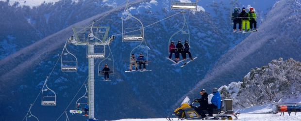 Falls Creek closed its ski lifts on Thursday afternoon.