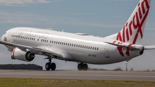 Virgin Australia flight VA781 to Cairns was the first to take off on Brisbane Airport's new runway earlier this month.