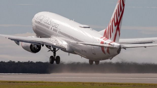 First flight takes off from Brisbane Airport's new runway