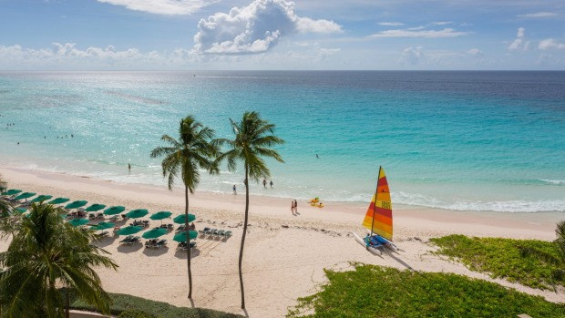 Worthing Beach, Barbados.