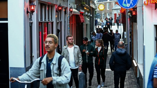 Amsterdam residents have enjoyed tourist-free streets thanks to COVID-19 related travel restrictions.