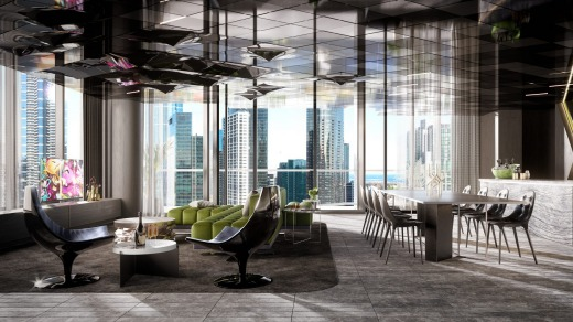 The hotel's planned EWOW suite.