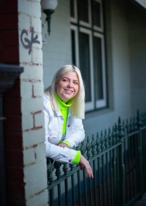 Luemma Pilcher, in Fitzroy, had been living in New York for more than two years before the pandemic.