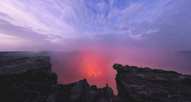 The Danakil Depression, Ethiopia: It's that magic combination of heat and minerals again… the Danakil Depression is one ...