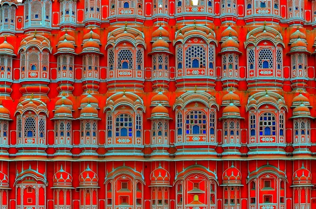 Jaipur, India: When the local maharaja decided he wanted to impress the visiting Prince Albert of Britain in 1876, he ...