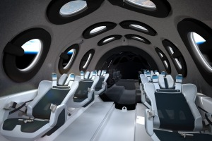 Virgin Galactic Spaceship Seats Rotated Back In Space Supplied PR image for Traveller. Virgin Galactic reveals interiors ...
