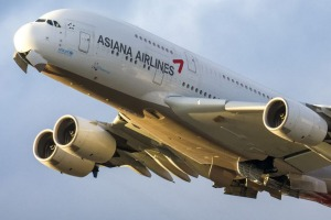 Without access to a simulator, South Korea's Asiana Airlines has been forced to fly its A380s in circles to keep its ...