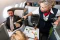 It's surprising more accidents don't happen with drinks while flying.