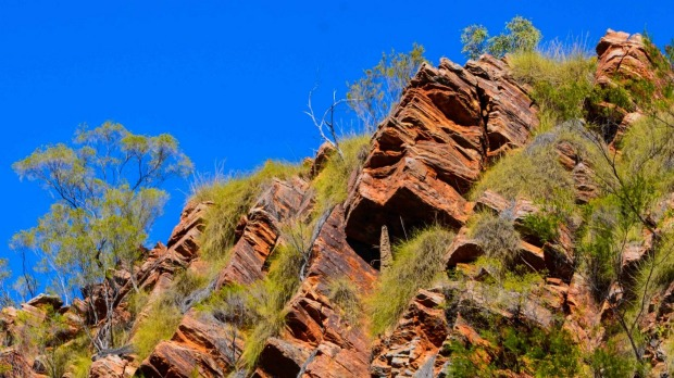 Can you see President Trump? Mount Trumpmore in the Kimberley.