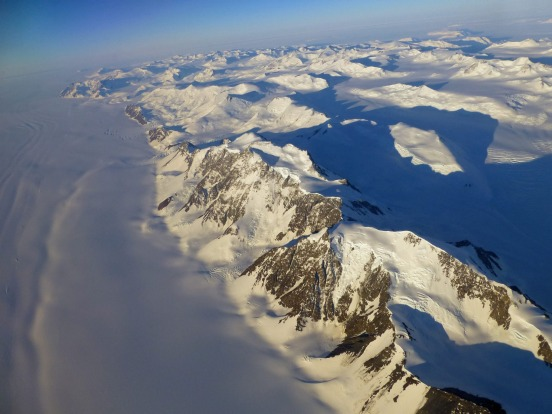 There are 19 possible flight plans over Antarctica.