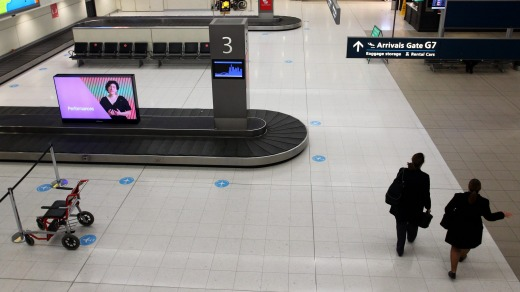 Australia's airports are largely deserted as we quietly accept the travel restrictions aimed at stopping the spread of ...