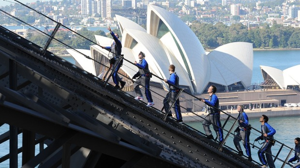 For the first time, climbers will be able to traverse the entire length of the Sydney Harbour Bridge's arch.