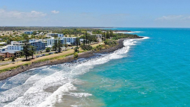 The Point Resort offers waterfront apartments on the Coral Coast just steps from the white powdery sands of Bargara Beach.