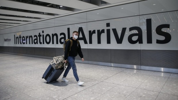 Australians are welcome to fly into the the UK without having to go into quarantine.