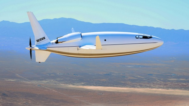 The bullet-shaped Celera 500L from Otto Aviation would massively reduce the cost of flying privately, the company says.