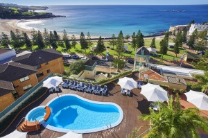 Crowne Plaza Coogee Beach.