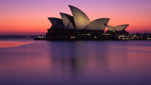 The iconic Sydney Opera House.