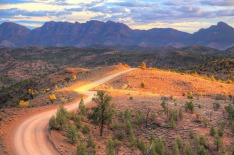 Rough landscape in Flinders Ranges National Park, Australia SatSep12covermycountry Photo credit: iStock Reusage ...