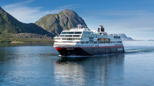 The MS Vesterålen was recently upgraded.