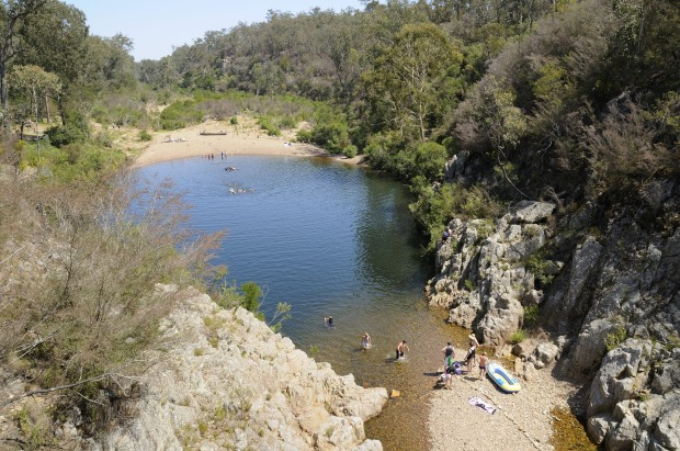 Blue Pool, East Gippsland: This natural pool in the gorge on Freestone Creek will keep you cool on the hottest of days. ...