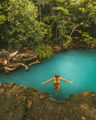 Cardwell Spa Pool, Cardwell: Locals have been cooling off in this magical and previously little-known geological wonder ...