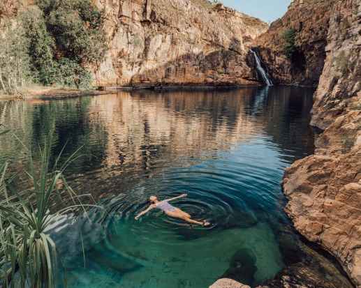 Maguk, Barramundi Gorge, Kakadu National Park: It's a bit of a trek to reach the Maguk waterfall and pools, found an ...