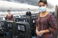 All Singapore Airlines crew are vaccinated.