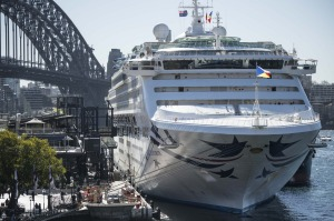 P&O's Pacific Explorer in Sydney last year. What does the P and O stand for?