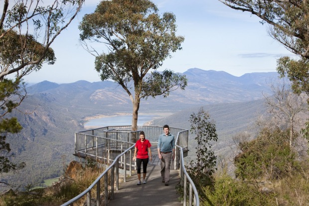 The Boroka Lookout, Victoria: A short drive from Grampians hub town Halls Gap, and a five minute walk from the car park, ...
