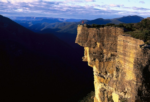 The Kanangra-Boyd Lookout, New South Wales: Echo Point in Katoomba is generally the go-to lookout in the Greater Blue ...