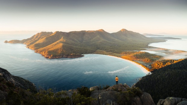 Wineglass Bay, Tasmania: Wineglass Bay might not be the best beach in Australia for swimming, surfing or sunbaking, but ...
