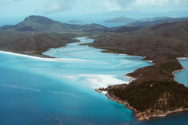 Tongue Point, Queensland The white sand beaches of the Whitsundays are notoriously pretty, but for a truly great lookout ...