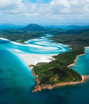 Tongue Point, Queensland: The white sand beaches of the Whitsundays are notoriously pretty, but for a truly great ...