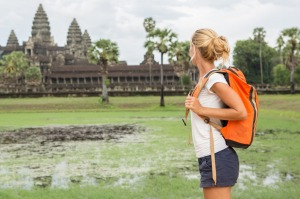 In the year 2000, you could have had Cambodia's famous Angkor Wat temple virtually to yourself.
