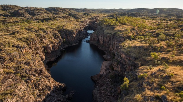 The soaring rock walls of Nitmiluk/Katherine Gorge are best seen from the river.