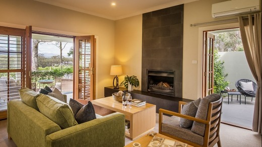 One of the suites at Spicers Vineyard Estate.
