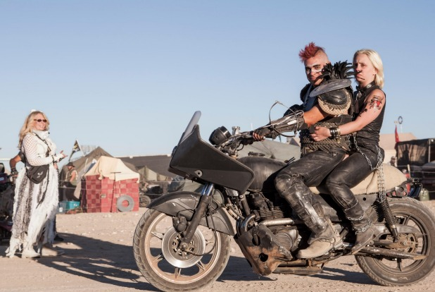 The annual Mad Max Wasteland Weekend Festival, California City, California.