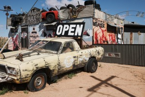 The Mad Max Two museum in Silverton, NSW.