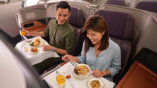 Singapore Airlines is turning one of its grounded planes into a fine-dining restaurant.