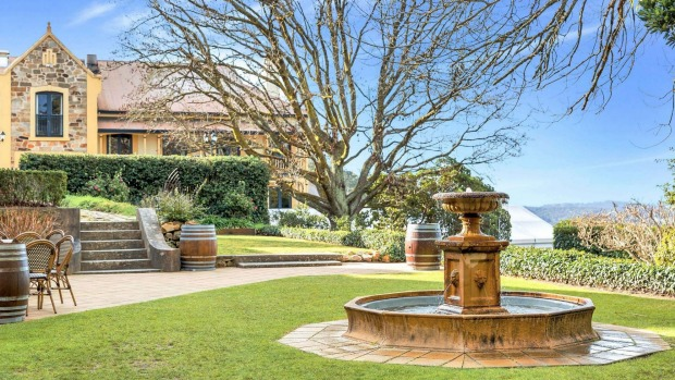 Mount Lofty House in the Adelaide Hills.