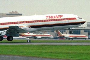 Trump Shuttle used old Boeing 727s it refitted with more luxurious interiors.