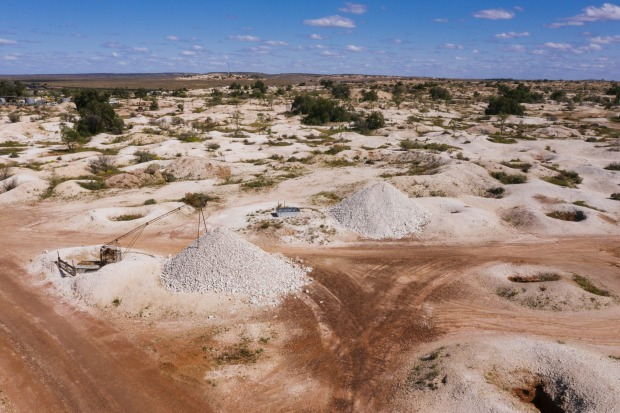 The small outback town of White Cliffs in the Central Darling Shire  of New South Wales is best known for its opal mining.