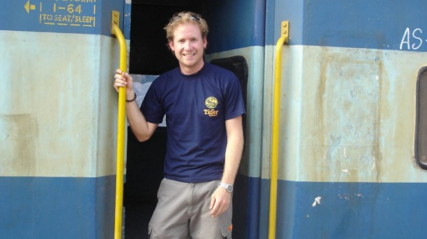 Ben Groundwater's gap year started his love of travel.