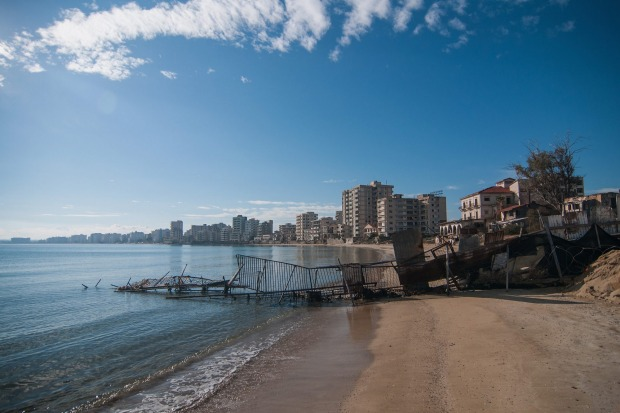 Prior to the Turkish invasion of Cyprus in 1974, the abandoned quarter of Varosha was the modern tourist area of the ...