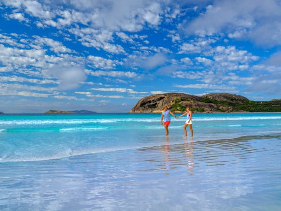 Esperance, WA: The edge of the world feeling provides a considerable part of Esperance's charm. But Lucky Bay – reputed ...