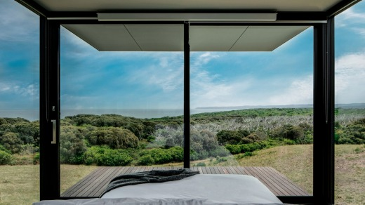 From your Sky Pod, catch the sun setting over Moonlight Head, linger in the twilight, count the stars – and relax.